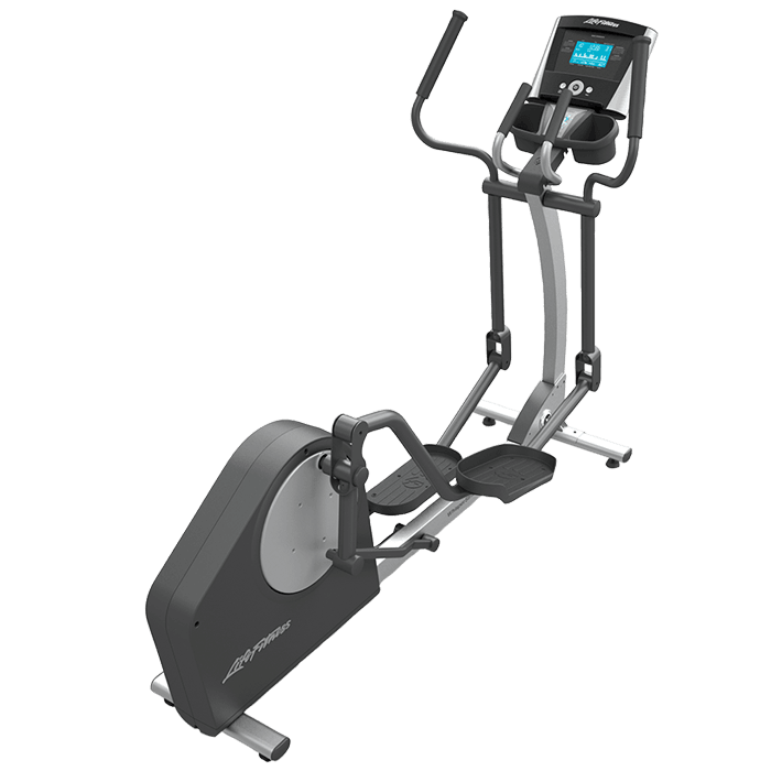 Life Fitness Elliptical Machine on a transparent background