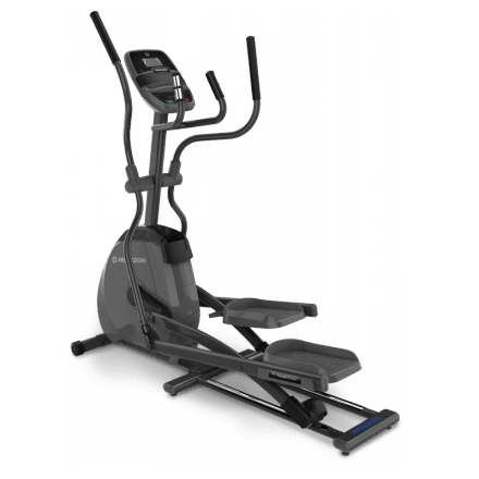 Horizon EX-59 Elliptical in full black body frame on a transparent background