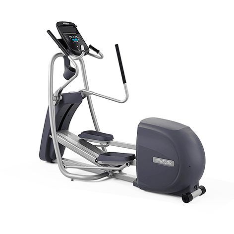 Precor EFX 425 Elliptical Crosstrainer with white background