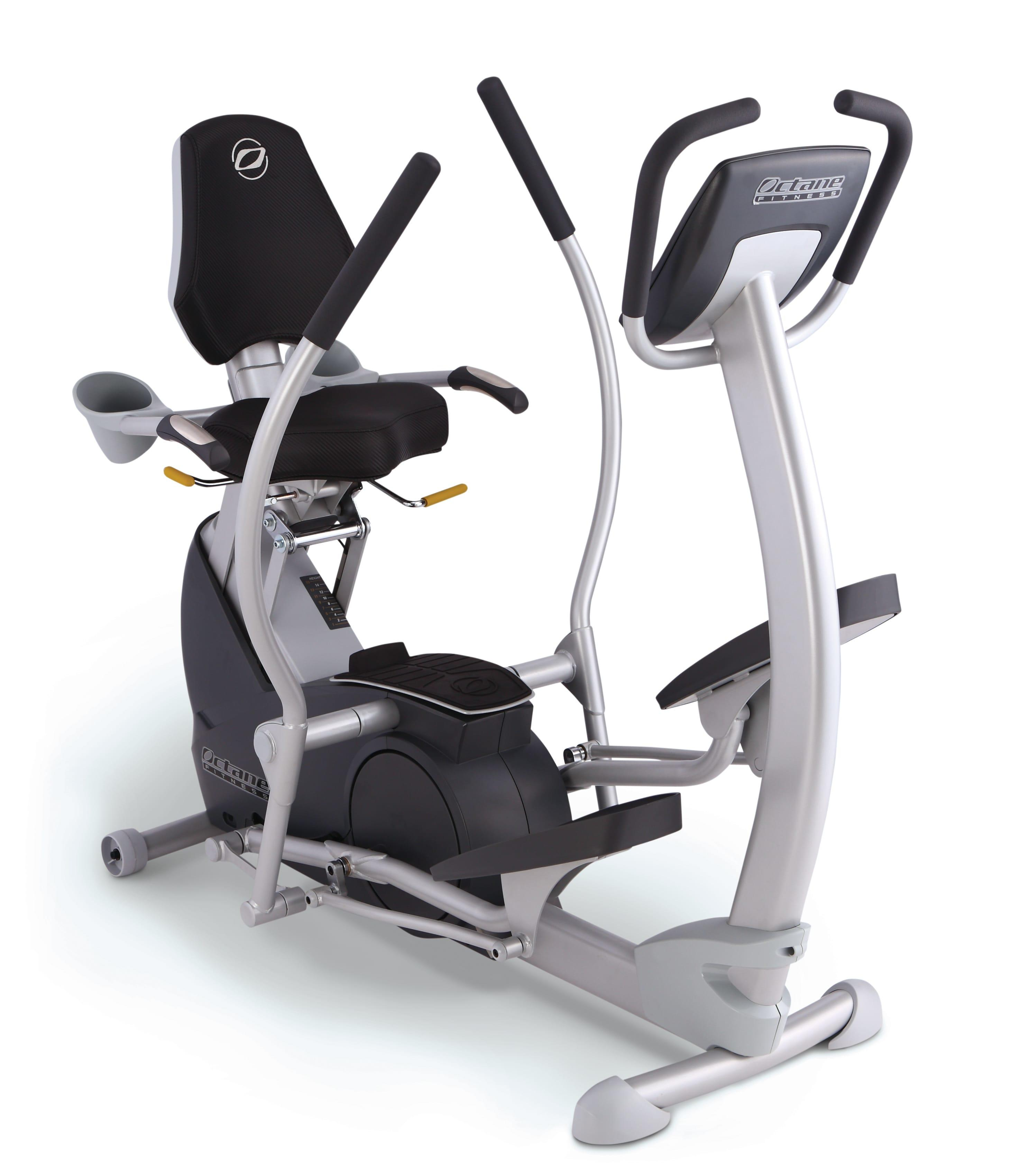 XR4 Elliptical Machine Front Angle