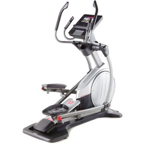 Freemotion 570 interactive elliptical looks good in black and silver body frame