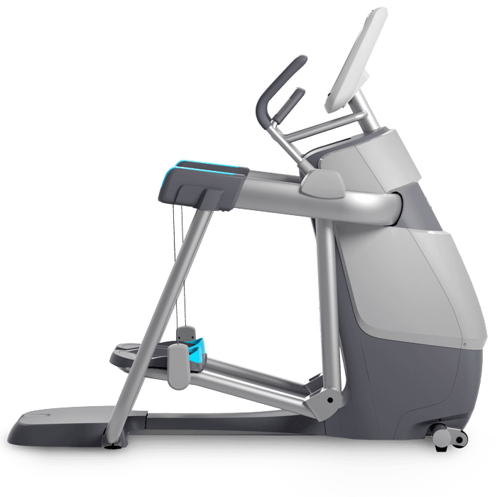 Precor AMT 885 transparent on a transparent background